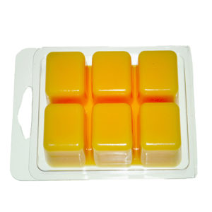 6 Cavity Clear Plastic Cube Tray for Candle-Making /& Soap Kampo 25 Packs Wax Melt Mold Wax Melt Clamshells Molds Round
